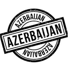 Azerbaijan rubber stamp vector