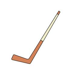 hockey stick icon image vector image