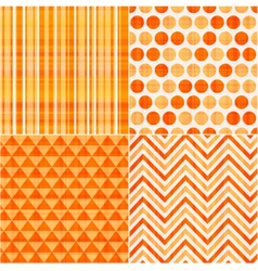 seamless orange texture pattern background vector image
