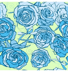 Seamless roses vector