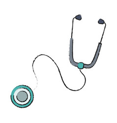 Stethoscope tool icon vector