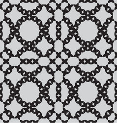 Patterns seamless monochrome vector