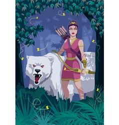 Artemis vector image