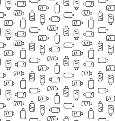 Battery pattern seamless vector