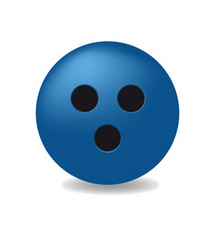Blue ball with the black holes vector