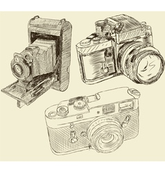 cameras vector image vector image