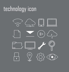 modern infographic logo vector image