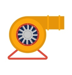 Industrial fan vector