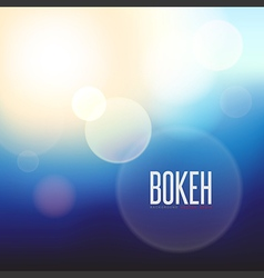 Abstract background and blurred lights on black ba vector