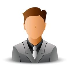 man in jacket vector image