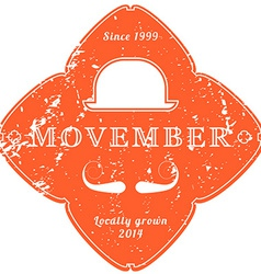 November 27 2014 the movember foundation is an vector