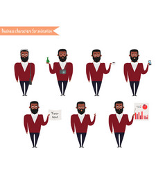 Ready-to-use character set vector