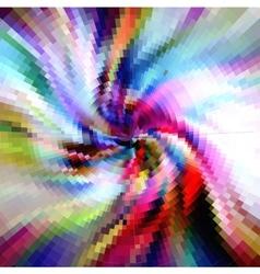 spiral pattern ornate background vector image