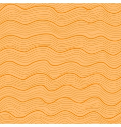 Orange wavy seamless pattern vector