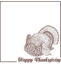 Happy thanksgiving celebration vector