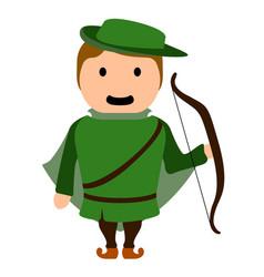 Archer cartoon character vector