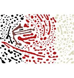 brush stroke background vector image