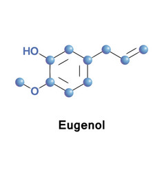 Eugenol is a phenylpropene vector