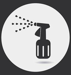 Garden hand sprayer vector