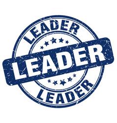 Leader stamp vector