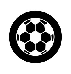 Soccer ballloon isolated icon vector