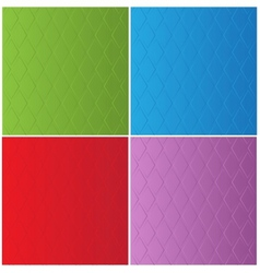 Stylish color backgrounds in diamond-shaped vector