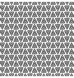 Ink triangle pattern vector