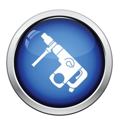 Icon of electric perforator vector