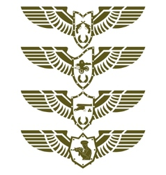 Army badges-3 vector