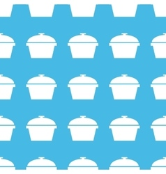 Pan straight pattern vector image