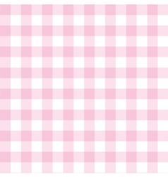 Seamless pink and white valentines background vector image vector image