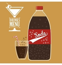 Drink design vector