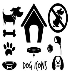 animal icons1 vector image vector image