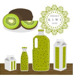 the theme kiwi vector image vector image