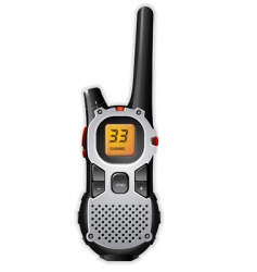 walkie-talkie vector image vector image