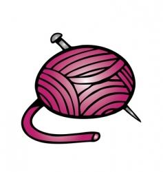 yarn vector image vector image