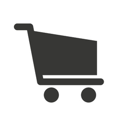 Cart shopping store icon vector