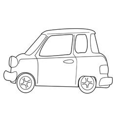 minicar vector image