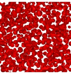 Background of beautiful red rose petals eps 10 vector