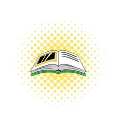 Photo album icon comics style vector
