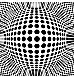 Abstract black halftone background for your design vector