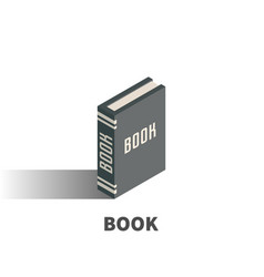 book icon symbol vector image