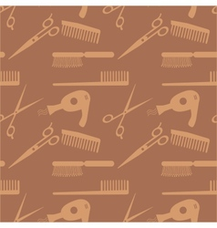 Hair accessories pattern vector