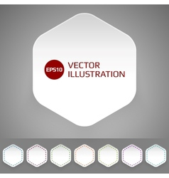 Minimal badge vector image