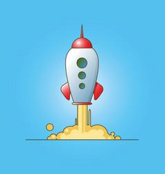 Rocket launch vector