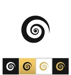 Spiral icon vector image vector image