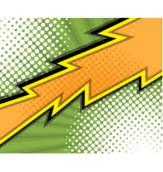 Abstract comic book comic book background vector