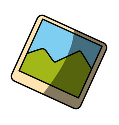 Picture of landscape vector