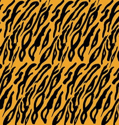 Animal skin hand drawn texture seamless pattern vector