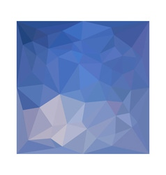 Powder blue abstract low polygon background vector